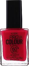 "Духи, Парфюмерия, косметика Лак для ногтей ""60 секунд"" - Avon Pro Colour In 60 Seconds Nail Enamel"