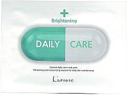 Духи, Парфюмерия, косметика Осветляющая тканевая маска для лица - L`arvore Daily Care Mask Brightening