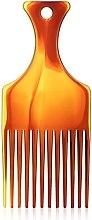 """Духи, Парфюмерия, косметика Гребень для волос """"Afro"""" M, 60281, янтарный - Top Choice"""