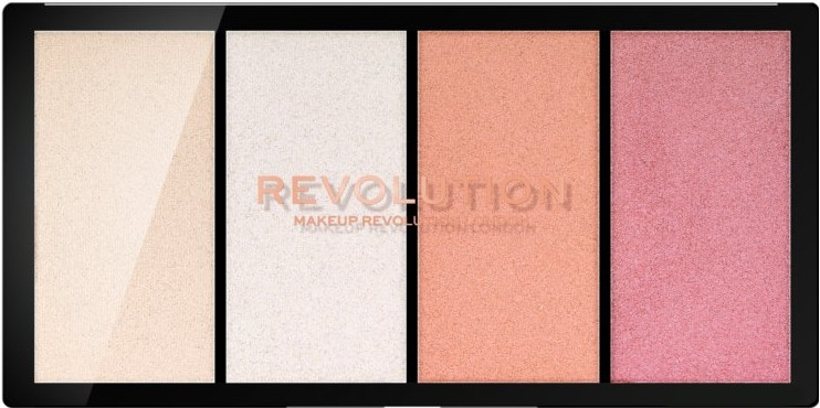 Палитра хайлайтеров - Makeup Revolution Re-Loaded