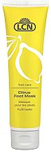 Духи, Парфюмерия, косметика Цитрусовая маска для ног - LCN Citrus Foot Mask