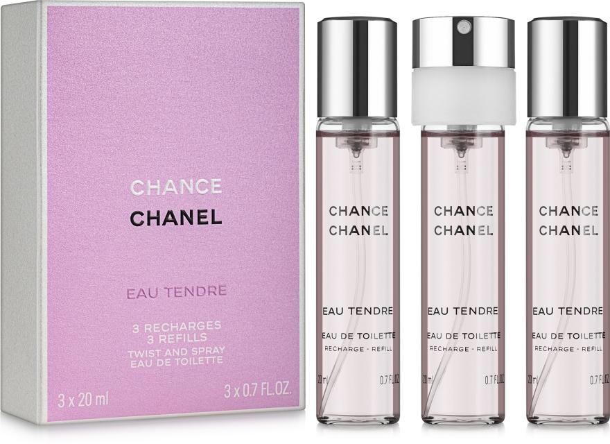 Chanel Chance Eau Tendre - Туалетная вода (сменный блок с распылителем)