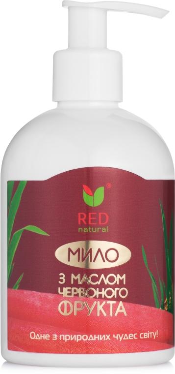 Жидкое мыло с маслом красного фрукта - Red Natural Saop