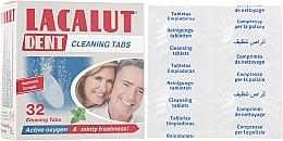 Духи, Парфюмерия, косметика Таблетки для очистки зубных протезов № 32 - Lacalut Dent