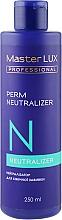 Духи, Парфюмерия, косметика Нейтрализатор для химической завивки - Master LUX Professional Perm Neutralizer