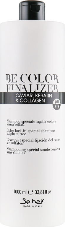 Шампунь для волос - Be Hair Be Tech Finalizer Shampoo