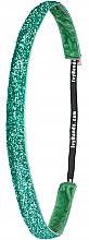 Духи, Парфюмерия, косметика Обруч-резинка для волос «Tropical Green Glitter» - Ivybands