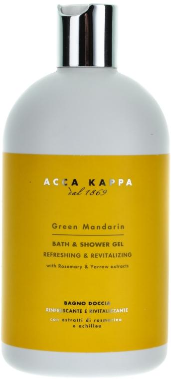 Гель для душу - Acca Kappa Green Mandarin Bath Foam & Shower Gel — фото N3