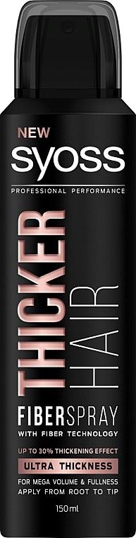 Спрей для утолщения волос с технологией Fiber - Syoss Thicker Hair Spray