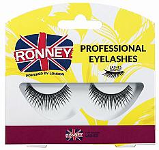 Духи, Парфюмерия, косметика Накладные ресницы, синтетические - Ronney Professional Eyelashes RL00022