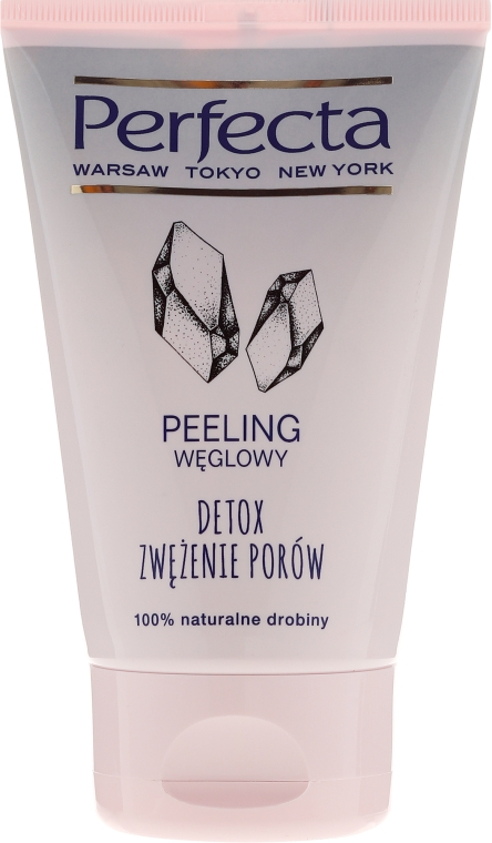 Угольный скраб для лица - Perfecta Detox Carbon Scrub