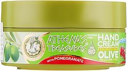 Духи, Парфюмерия, косметика Увлажняющий крем для рук с экстрактом граната - Athena`s Treasures Extra Hydreting Olive Hand Cream