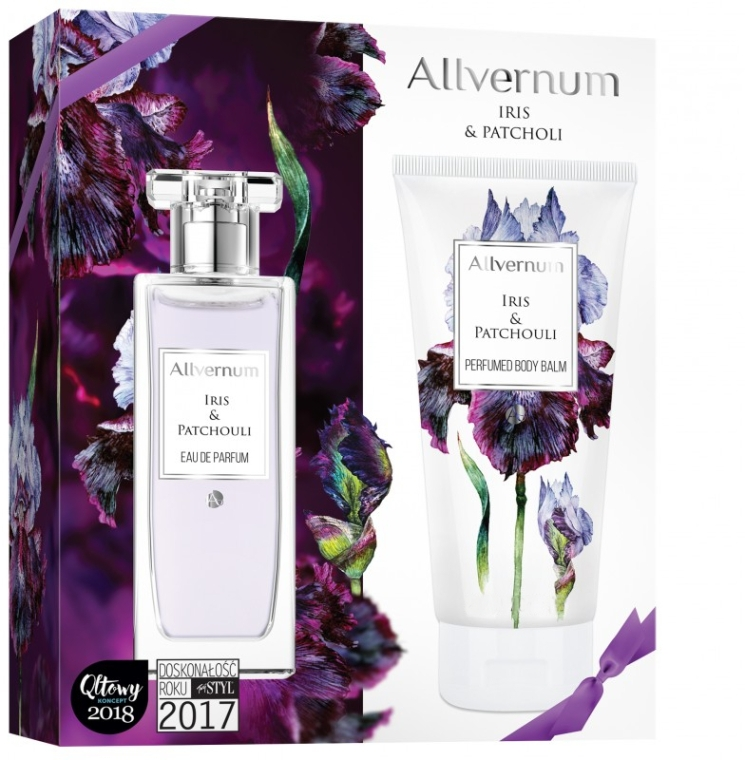 Allvernum Iris & Patchouli - Набор (edp/50ml + b/lot/200ml)