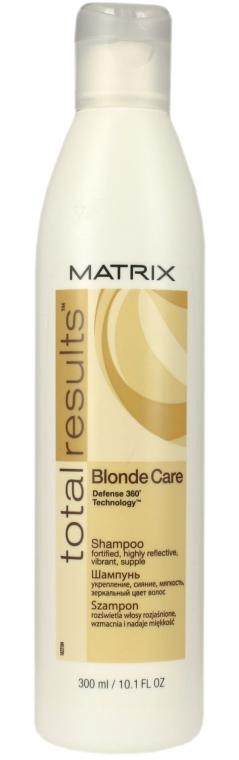Шампунь для волос оттенка блонд - Matrix Total Results Blonde Care Shampoo