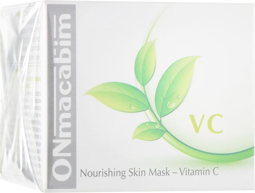 Маска для лица, питательная - Onmacabim VC Nourishing Skin Mask Vitamin C