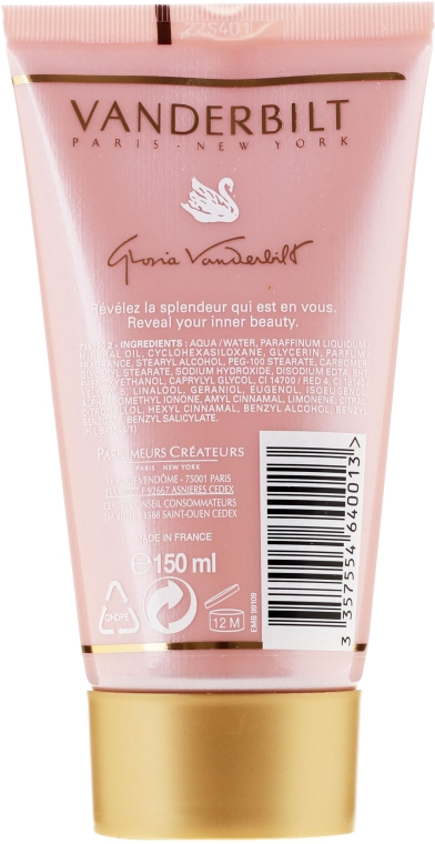 Gloria Vanderbilt Eau de Toilette Body Lotion - Лосьон для тела — фото N2