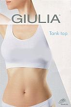 "Духи, Парфюмерия, косметика Топ бесшовный на широких бретелях ""Tank Top"", white - Giulia"
