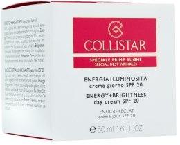 Духи, Парфюмерия, косметика Крем от первых морщин дневной - Collistar Energy+Brightness Day Cream SPF20