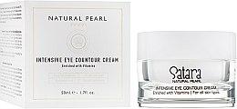 Духи, Парфюмерия, косметика Интенсивный контурный крем для кожи вокруг глаз - Satara Natural Pearl Intensive Eye Countour Cream
