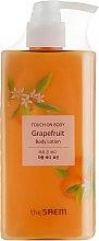 Лосьон для тела - The Saem Touch On Body Grapefruit Body Lotion — фото N1