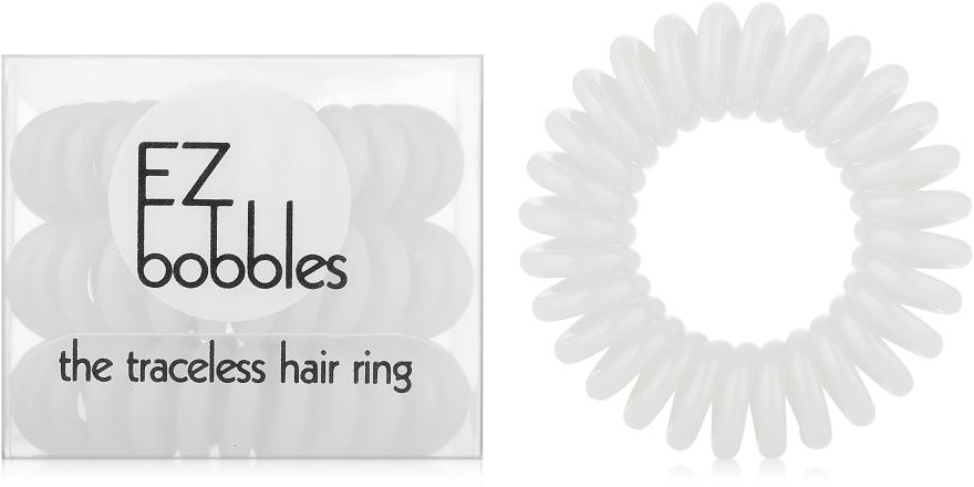 Резинка для волос, белая - EZ Bobbles