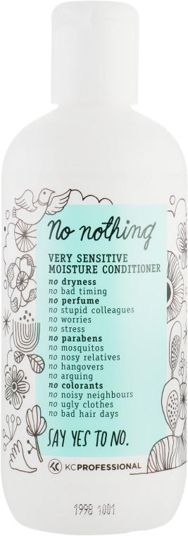 Кондиционер для сухих и повреждённых волос - KC Professional No Nothing Moisture Conditioner