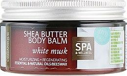 "Духи, Парфюмерия, косметика Бальзам для тела ""Белый мускус"" - Organique Shea Butter Body Balm White Musk"
