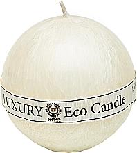 Духи, Парфюмерия, косметика Свеча из пальмового воска, 8 см, белая - Saules Fabrika Luxury Eco Candle