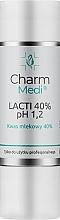 Духи, Парфюмерия, косметика Молочная кислота 40% - Charmine Rose Charm Medi Lacti 40% pH 1.2