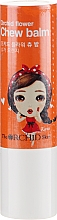 Духи, Парфюмерия, косметика Увлажняющий бальзам для губ - The Orchid Skin Orchid Flower Chew Balm Sugar Orange