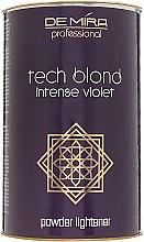 Духи, Парфюмерия, косметика Осветляющая пудра - DeMira Professional Tech Blond Intense Violet Powder