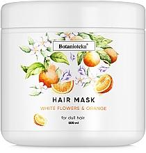 """Духи, Парфюмерия, косметика Маска для тусклых волос """"Апельсин и белые цветы"""" - Botanioteka Mask For Dull Hair"""