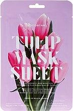 "Духи, Парфюмерия, косметика Маска-слайс для лица ""Тюльпан"" - Kocostar Slice Mask Sheet Tulip Flower"