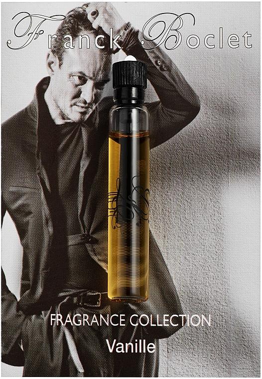 Franck Boclet Vanille - Парфюмированная вода (пробник)