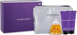 Духи, Парфюмерия, косметика Mauboussin Pour Femme - Набор (edp/100ml + b/lot/100ml + sh/gel/100ml + bag)