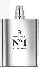 Духи, Парфюмерия, косметика Aigner No 1 Platinum - Туалетная вода (тестер без крышечки)