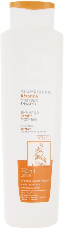 Шампунь с кератином для вьющихся волос - Sairo Shampoo Keratin Frizzy Hair