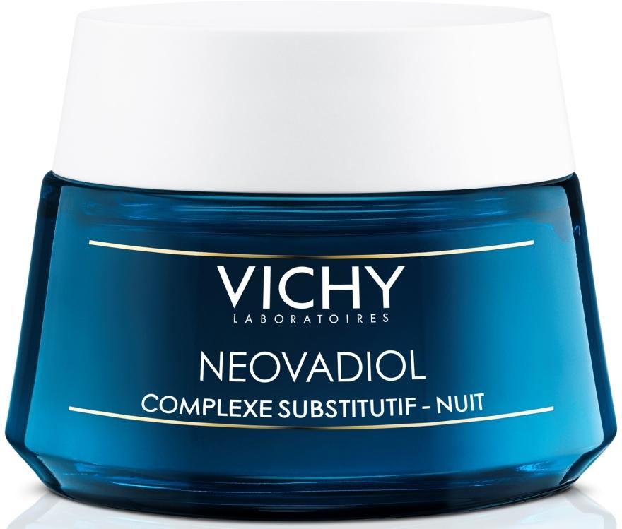 Антивозрастной ночной крем-уход с компенсирующим эффектом для всех типов кожи - Vichy Neovadiol Nuit Compensating Complex