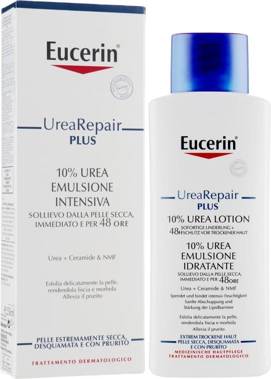 Насыщенный увлажняющий лосьон для тела для очень сухой кожи - Eucerin Repair Lotion 10% Urea