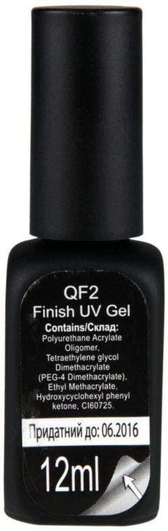 Фініш гель - Kodi Qf2 UV Finish Gel — фото N2