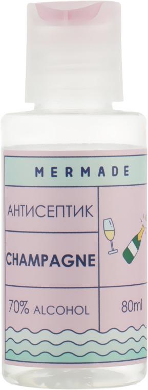 """Антисептик для рук """"Champagne"""" - Mermade 70% Alcohol Hand Antiseptic"""
