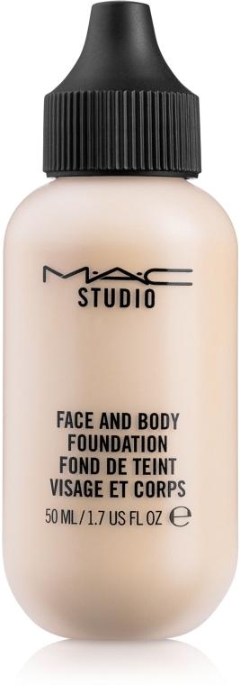 Тональная основа для лица и тела - M.A.C Face and Body Foundation Fond De Teint (50ml)
