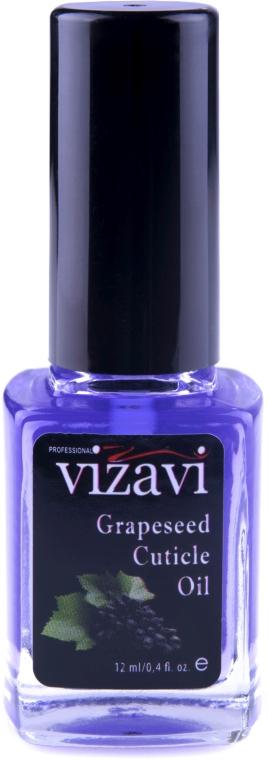 "Масло для кутикулы ""Виноград"" - Vizavi Professional Grapeseed Cuticle Oil"