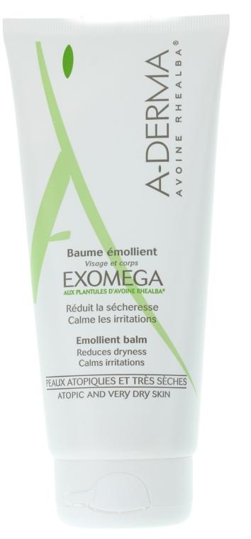 Смягчающий бальзам для атопичной кожи с экстрактом овса Реальба - A-Derma Exomega Emollient Balm