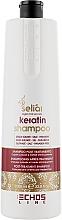 Кератиновый шампунь - Echosline Seliar Keratin Shampoo  — фото N3