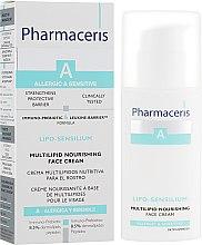 Липидно-восстанавливающий крем - Pharmaceris A Lipo-Sensilium Multi-Lipid Nourishing Face Cream — фото N1
