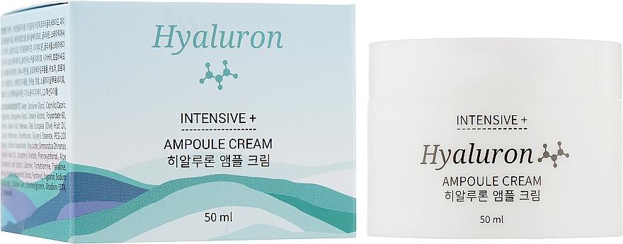 Крем для лица ампульный с гиалуроном - Jkosmec Hyaluron Intensive+ Ampoule Cream