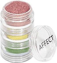 Духи, Парфюмерия, косметика Набор рассыпчатых теней для век - Affect Cosmetics Charmy Pigment Loose Eyeshadow Set