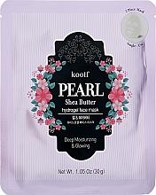 Духи, Парфюмерия, косметика Гидрогелевая маска для лица с жемчугом и маслом ши - Petitfee&Koelf Pearl & Shea Butter Hydro Gel Mask