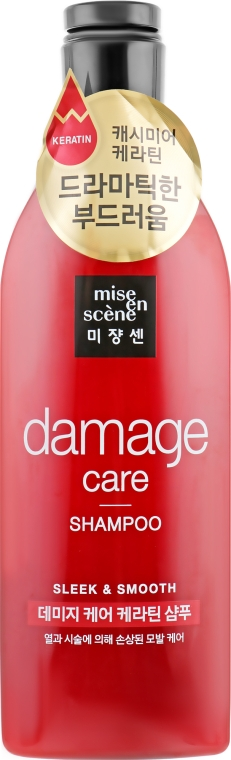 Шампунь для поврежденных волос - Mise En Scene Damage Care Shampoo